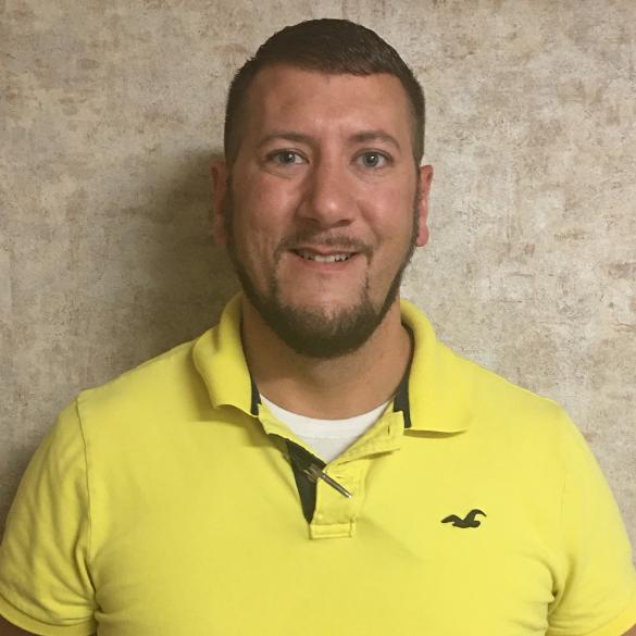 Jonathan Steely, Materials Management Coordinator